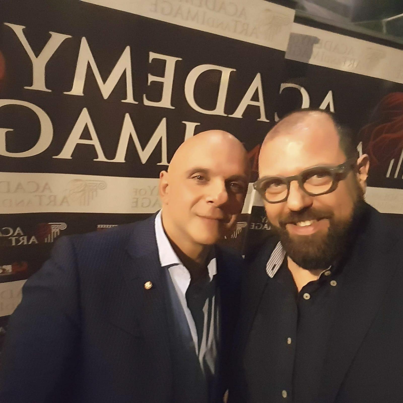 Corrado Cavarra e Pino Levato