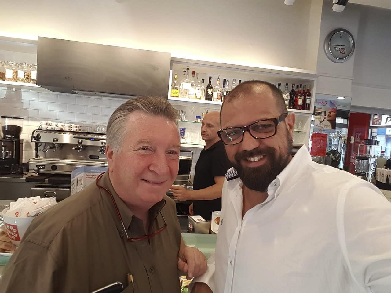 Corrado Cavarra e Aldo Parisi